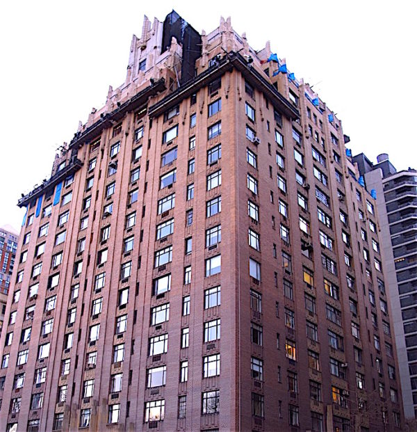 Apartment Building Ghostbusters central park west - i love the upper west side
