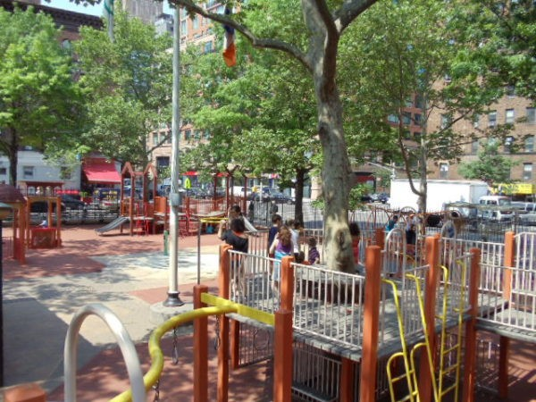 Playgrounds on the UWS