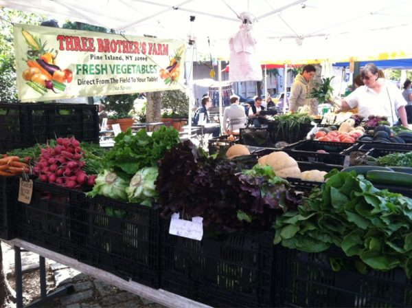 Farmers Markets on the Upper West Side