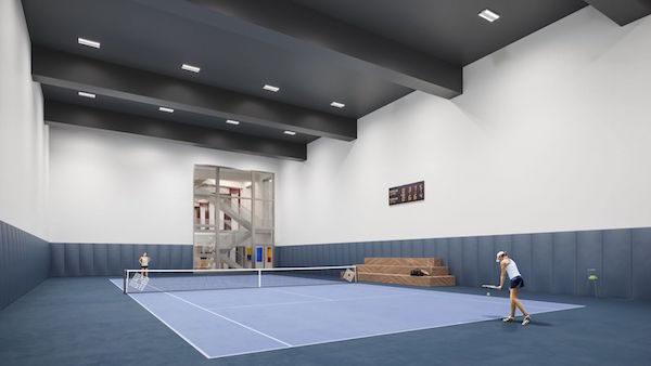 Waterline Square Tennis Court