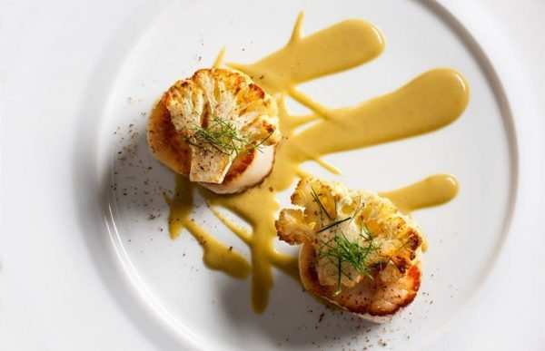 Jean Georges diver scallops