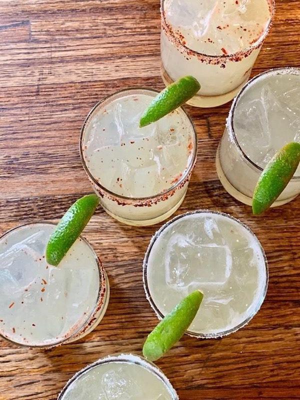 Crave Fishbar Margaritas