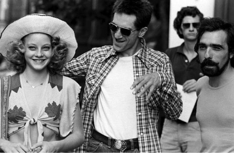 Image Copyright found: http://filmmakeriq.com/images/jodie-foster-robert-de-niro-and-martin-scorsese-on-the-set-of-taxi-driver/