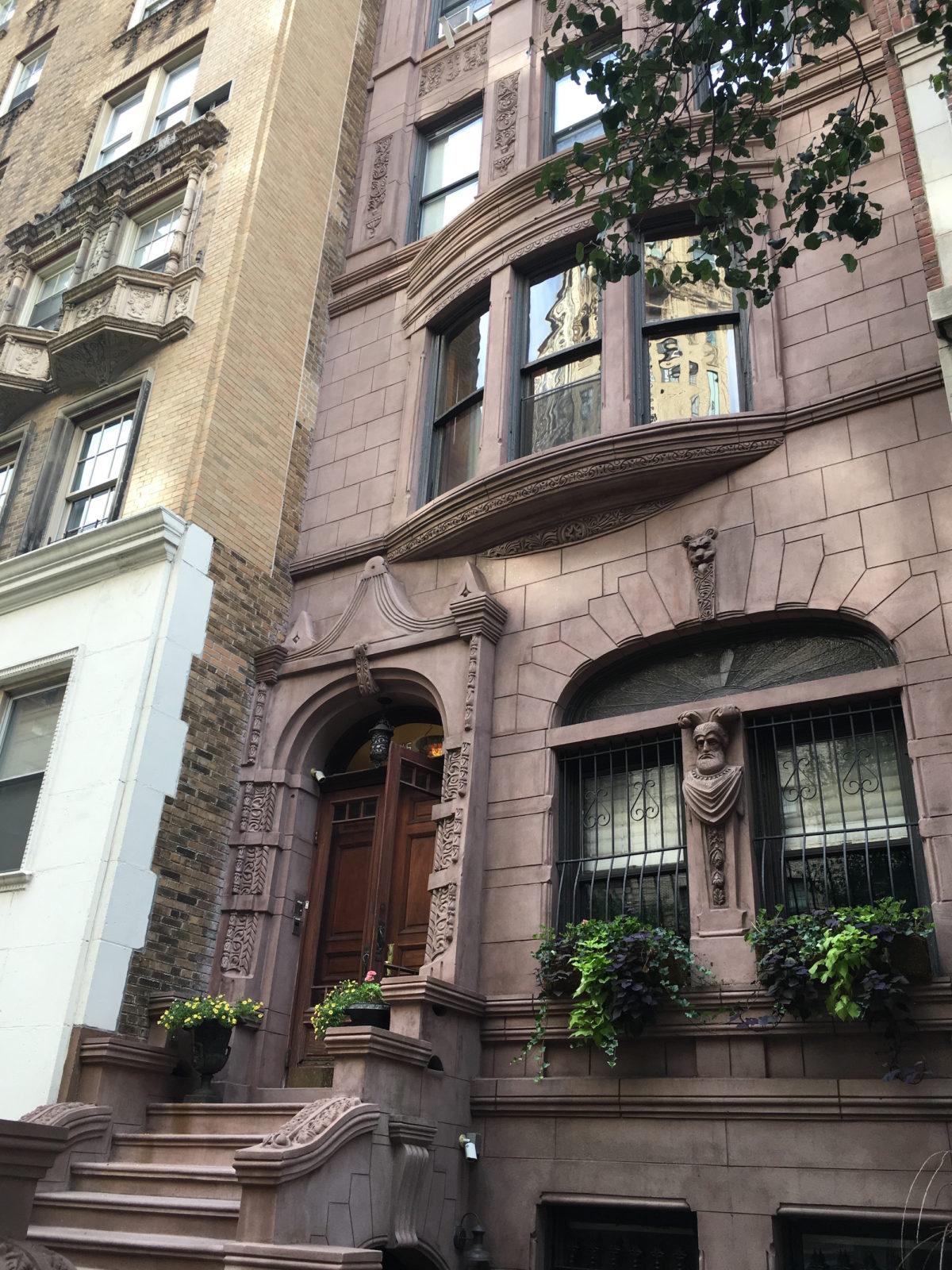 prettiest brownstones on the upper west side. Black Bedroom Furniture Sets. Home Design Ideas