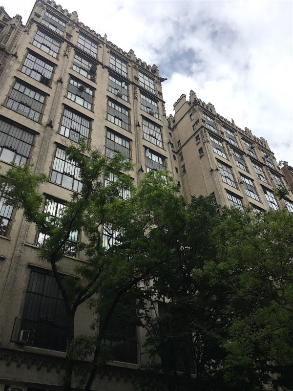 haunted buildings of NYC