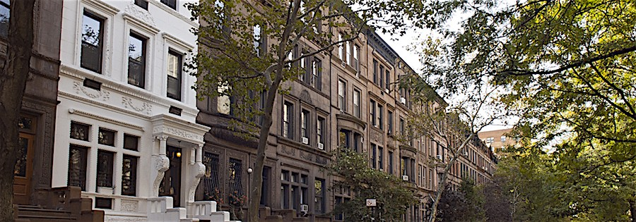 Teeniest Townhouses on the Upper West Side