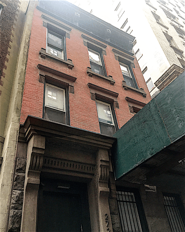 Teeniest townhouses on the upper west side upper west for Upper west side townhouse for sale