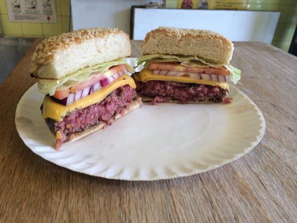 Harriets Kitchen Burger
