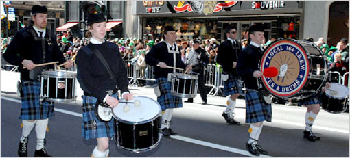St. Patrick's Day on the Upper West Side