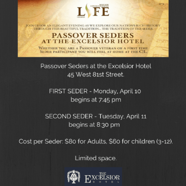 Passover Upper West Side