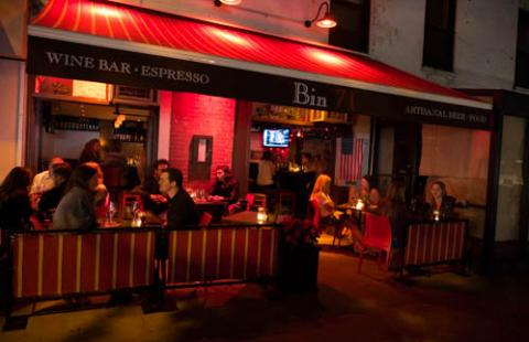 bars on the upper west side