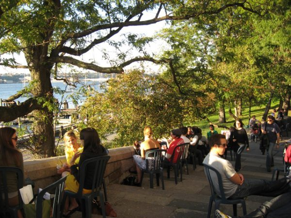 Outdoor Drinks on the Upper West Side