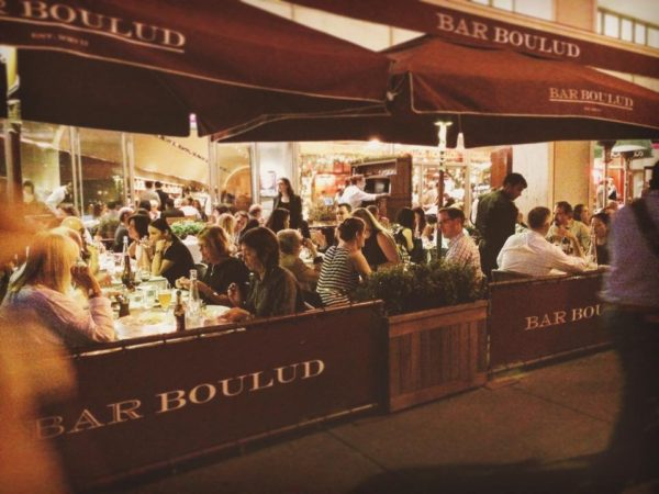 best spots for outdoor drinking in nyc