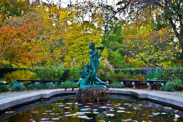 Conservatory Garden Central Park