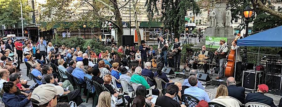 Free Concerts in Verdi Square