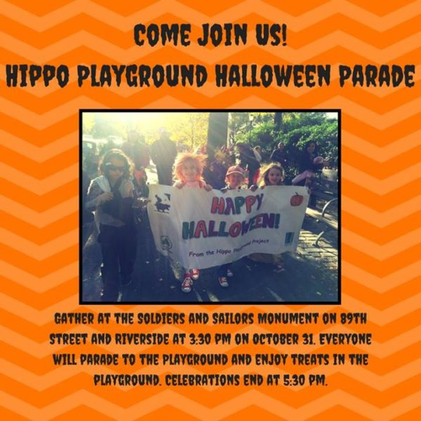 Halloween Parade at the Soldiers and Sailors Monument