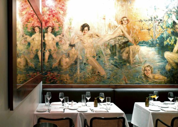 beautiful restaurant interiors NYC