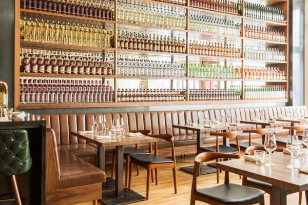 beautiful restaurant interiors in NYC