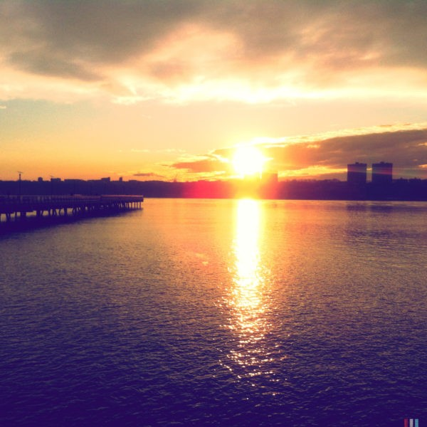 Hudson River Sunsets