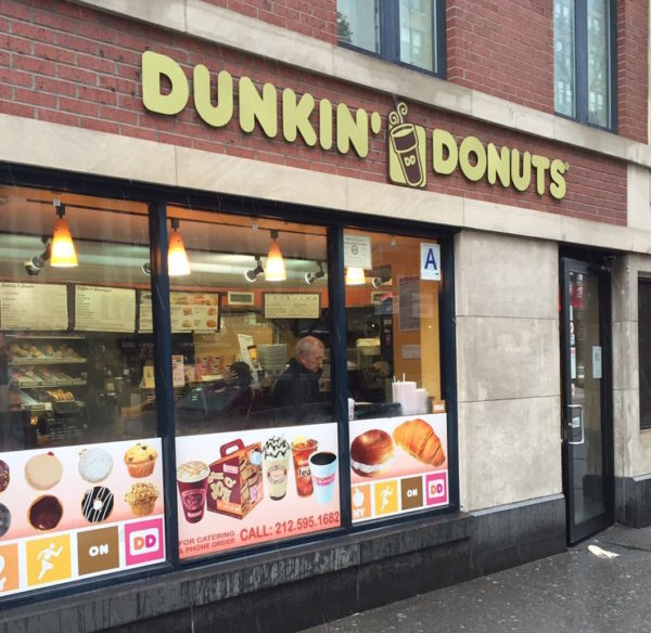 Dunkin' Donuts on the Upper West Side