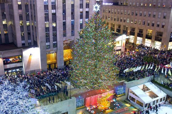 Christmas tree at Rockefeller Center