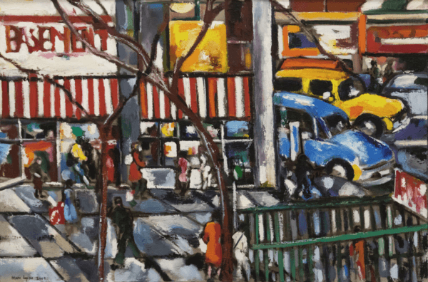Paintings of the Upper West Side