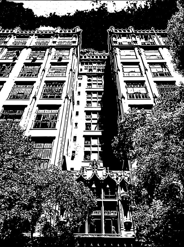 Vector Images of Iconic Upper West Side Buildings