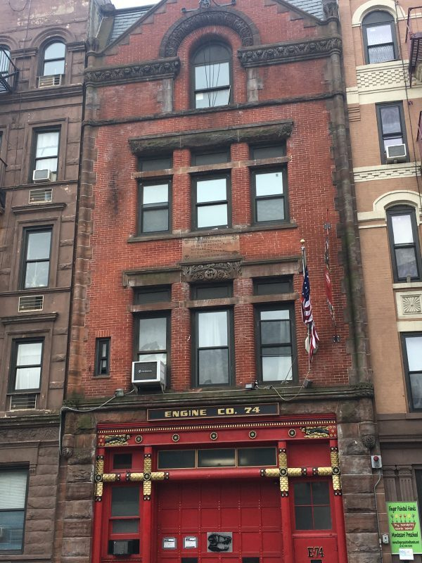 FDNY Stations on the Upper West Side