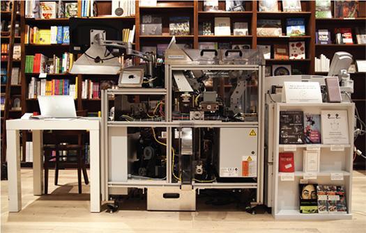 Shakespeare and Co Espresso Book Machine
