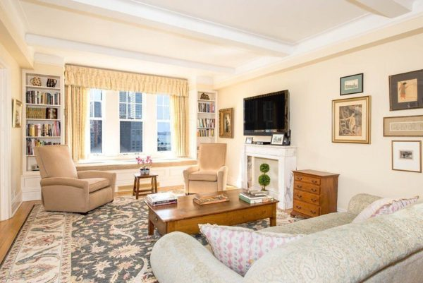 Charles Grodin's Upper West Side Apartment