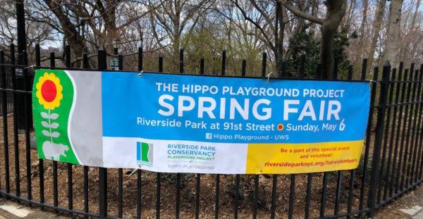 Hippo Playground Spring Fair