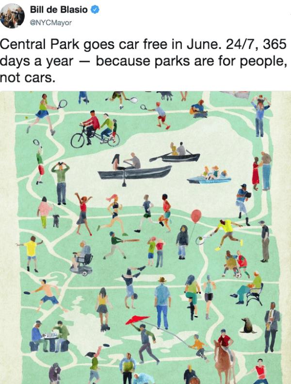 Car Free Central Park