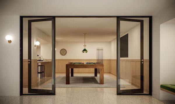 555 West End Billiards Room