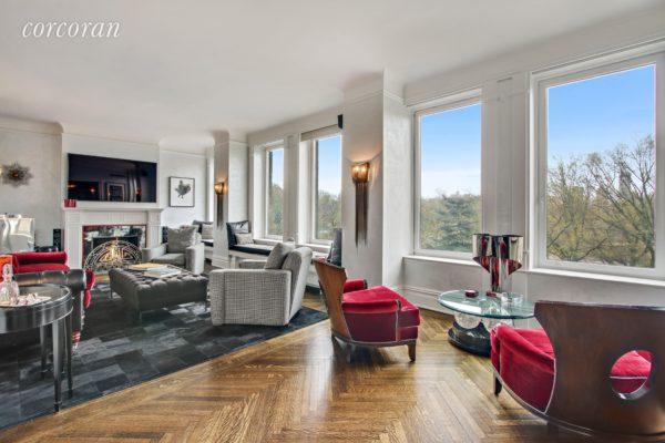 Antonio Banderas' Central Park West Apartment