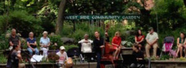 Music in a Garden at the West Side Community Garden