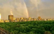 Dazzling Photos of Yesterday's Rainbow!