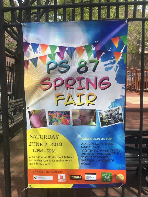 PS 87 Spring Fair