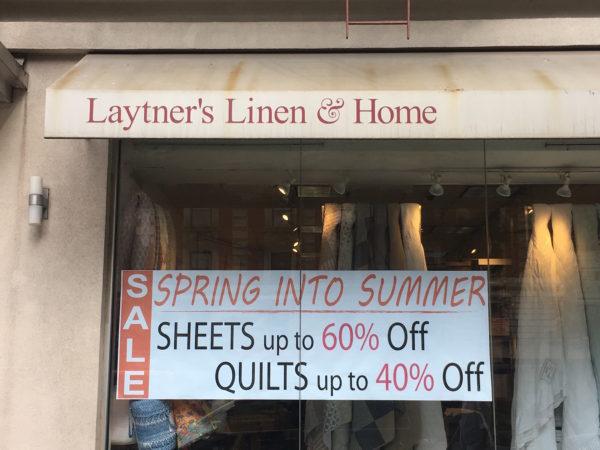 Laytners is closing