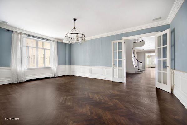 Bob Weinsteins Central Park West Duplex - Dining Room