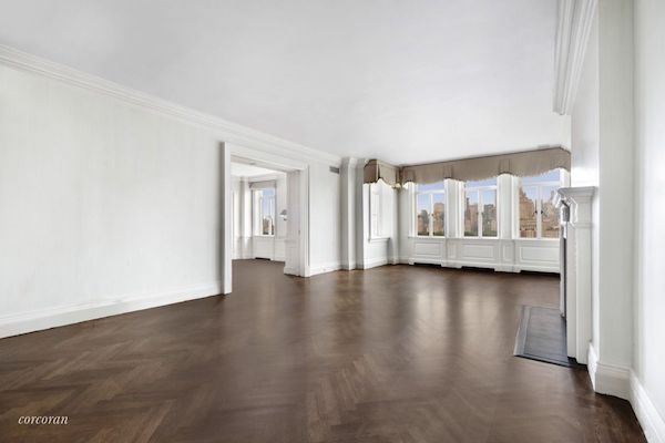 Bob Weinsteins Central Park West Duplex - Living Rom
