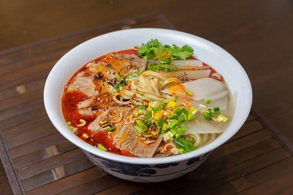 Dun Huang Beef Noodle Soup