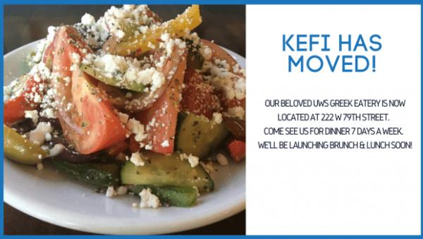 Kefi 222 West 79th Street