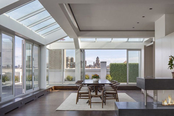 amy schumers upper west side apartment - skylights