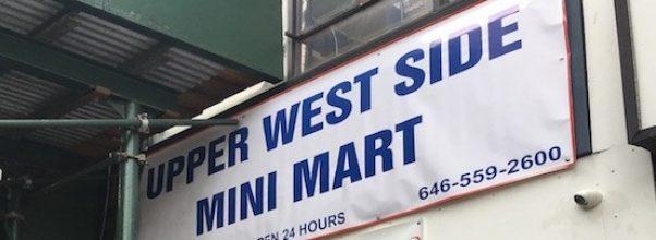 upper west side mini mart