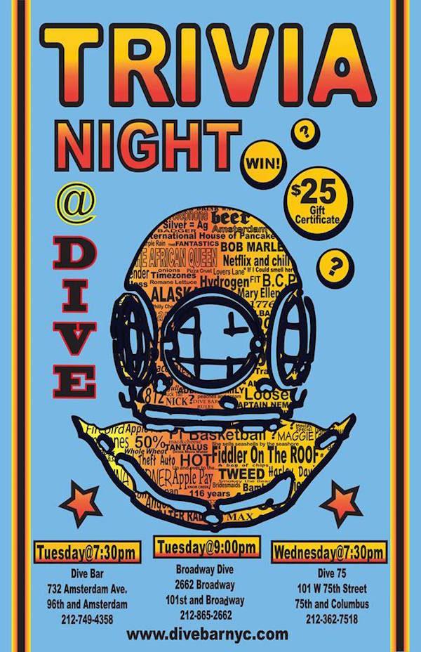 Dive Bar Trivia Night