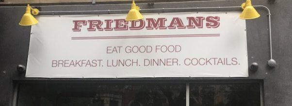 Friedmans 72nd Street
