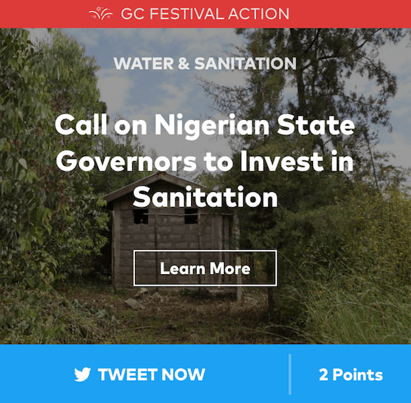 Global Citizen Nigerian Sanitation