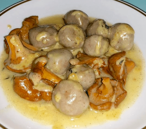 Leonti Gnocchi with Mushroom