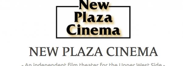 New Plaza Cinema Screenings At Symphony Space