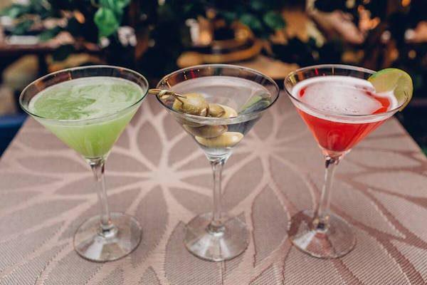 Olma Restaurant Martinis